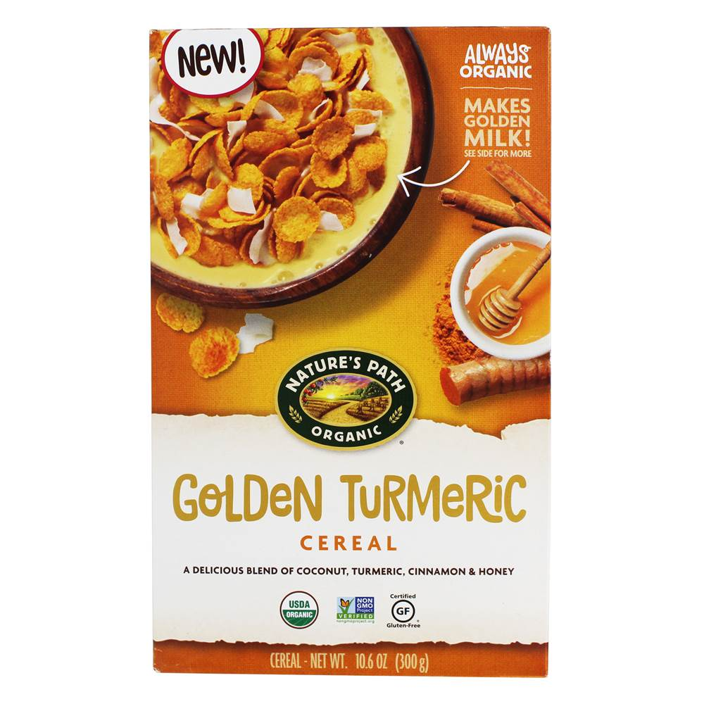 Organic Cereal Golden Turmeric - 10.6 oz. by Nature's Path Organic
