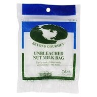 Unbleached Nut Milk Bag 11 Inches x 9 Inches