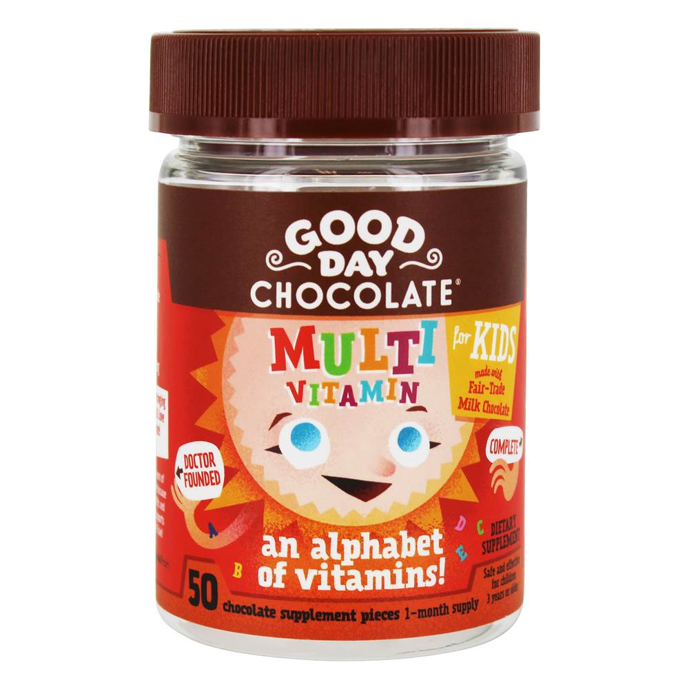 Integratore multivitaminico per bambini - 50 Piece(s) by Good Day Chocolate