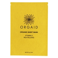Vitamin C & Revitalizing Organic Facial Sheet Mask - 0.8 fl. oz.
