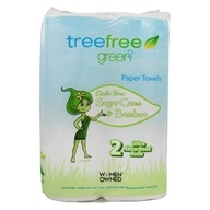 Tree Free Sugar Cane & Bamboo Paper Towels - 2 Rolls