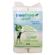 Tree Free Sugar Cane & Bamboo Ultra Soft Two Ply Bath Tissue - 12 Roll(s)