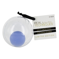Let It Snow Ball Shimmer Blending Foundation Sponge Ornament - Limited Edition by Real Techniques