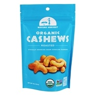 Organic Roasted Cashews Unsalted - 4 oz.