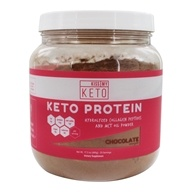 Kiss My Keto - Keto Protein Powder Chocolate - 17.2 oz.