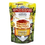 Pancake y Waffle Mix Banana Paleo - 12 oz. by Birch Benders
