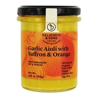 Garlic Aioli with Saffron & Orange - 6.35 oz.