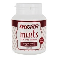 100% Xylitol Sweetened Mints Pomegranate Raspberry - 140 Count