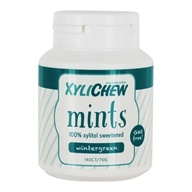 100% Xylitol Sweetened Mints Wintergreen - 140 Count