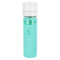Original Smoothie and Shake Saving Glass Bottle Mint Green - 16 oz.