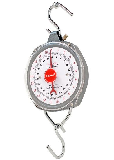 H-Series Hanging Scales H4420 44 Lb. x 4 Oz. by Escali