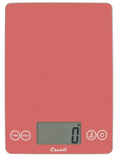 Arti Glass Digital Food Scale 157DR Desert Rose by Escali