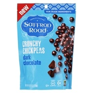 Chocolate oscuro con garbanzos crujientes - 4.15 oz. by Saffron Road