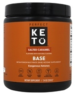 Base Exogenous Ketones Powder Salted Caramel - 8 oz. by Perfect Keto