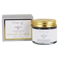 Overnight Detoxing & Renewing Gel Facial Mask Charcoal - 2.36 oz.