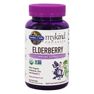 mykind Organics Elderberry Immune Formula - 120 Gummies by Garden of Life
