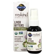 mykind Organics Liver Bitters Detox Spray - 2 fl. oz. by Garden of Life