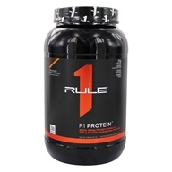R1 Protein 100% Whey Protein Isolate & Whey Protein Hydrolysate Formula Powder Chocolate Peanut Butter - 2.58 lbs. by Rule One Proteins
