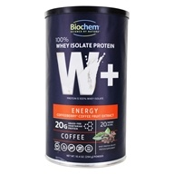 W+ Energy Formula 100% Whey Isolate Protein Powder Coffee - 10.4 oz.