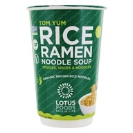 Rice Ramen Noodle Soup Cup Tom Yum - 2 oz. by Lotus Foods