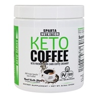 Keto Coffee Low-Carb Coffee Creamer French Vanilla Bliss - 8.5 oz. by Sparta Nutrition
