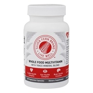 Whole Food Multivitamin with Trace Mineral Blend - 60 Vegetarian Capsules