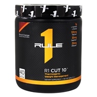 R1 Cut 10 Thermogenic Weight Management Powder 40 Servings Blood Orange - 220 Grams
