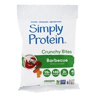 Crunchy Bites Protein Snacks Barbecue - 1.16 oz. by SimplyProtein