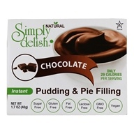 Pudding & Pie Filling Chocolate - 1.7 oz. by Simply Delish