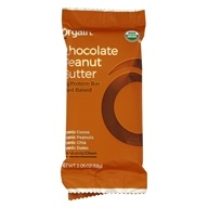 Manteiga De Amendoim Simples Orgânica Proteína Bar De Chocolate - 2.05 oz. by Orgain