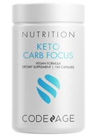 Keto Carb Blocker Extra Strength - 180 Capsules by Codeage