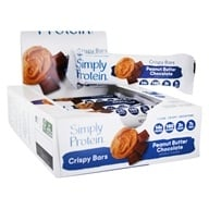 Crispy Bars Box Peanut Butter Chocolate - 8 Bars