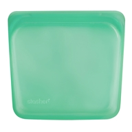 Reusable Silicone Sandwich Storage Bag Jade - 15 oz. by Stasher