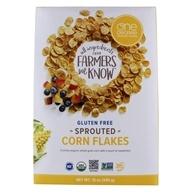Gluten Free Sprouted Corn Flakes - 12 oz. by One Degree Organic Foods