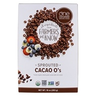 Sprouted Cacao O's - 10 oz. by One Degree Organic Foods