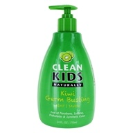 Liquid Hand Soap Kiwi Germ Busting - 24 fl. oz. by Clean Kids Naturally