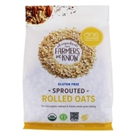 Gluten Free Sprouted Rolled Oats - 24 oz. by One Degree Organic Foods