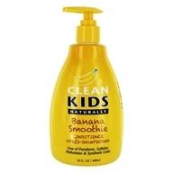 Conditioner Banana Smoothie - 16 fl. oz. by Clean Kids Naturally