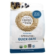 Gluten Free Sprouted Quick Oats - 24 oz. by One Degree Organic Foods