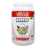 Protein & Energy Plant-Based Drink Mix Vanilla Bean - 30 oz.