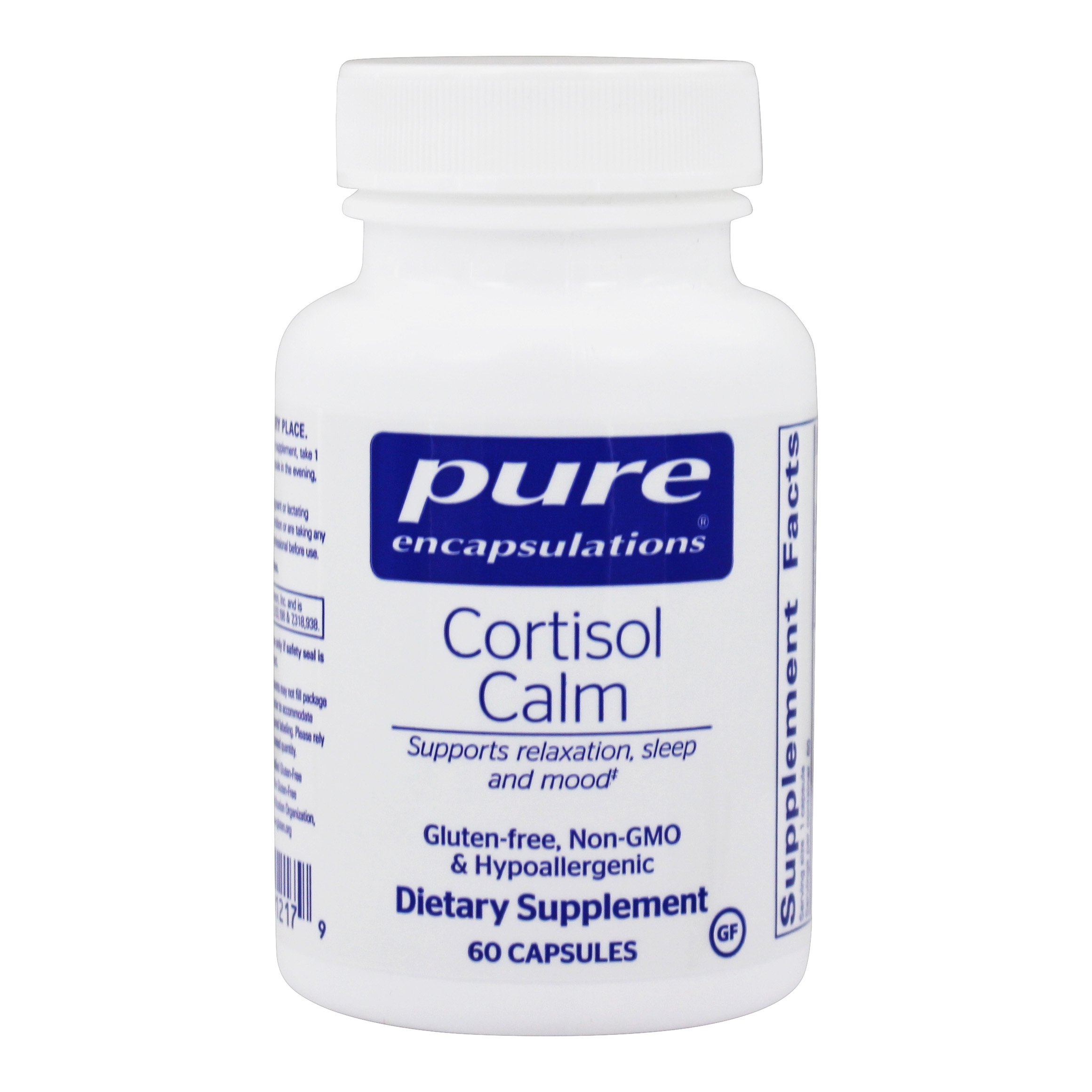 Cortisol kalme formule - 60 Capsules by Pure Encapsulations
