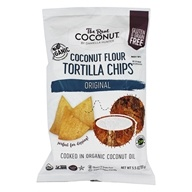 Coconut Flour Tortilla Chips Original - 5.5 oz. by The Real Coconut