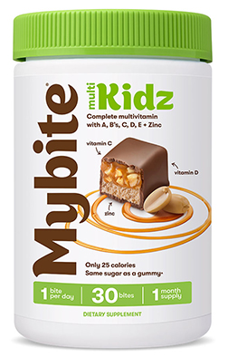 Multi Kids Complete Multivitamin med A, C, D, E + Zink Milk Chocolatey - 60 Bites