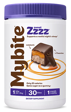 Sweet Zzzz Restful Sleep Support Formula Dark Chocolatey - 60 Bites
