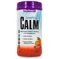 Simply Calm Mind & Body Serenity Formula Poudre Orange Agrumes - 16 oz. by Bluebonnet Nutrition