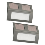 Solar Step Lights 21060 - 2 Pack by Nature Power