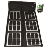 18-Watt Folding Solar Panel 55020 by Nature Power