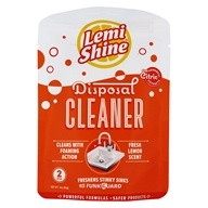 Garbage Disposal Cleaner Lemon Scent - 2 oz. by Lemi Shine