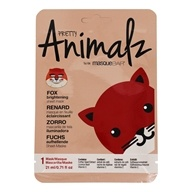 Pretty Animalz Fox Facial Sheet Mask - 1 Count by Masque Bar