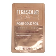 Peel Off Facial Mask Rose Gold Foil - 0.41 fl. oz. by Masque Bar